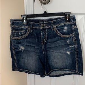 Silver Suki Size 29 Jean Shorts